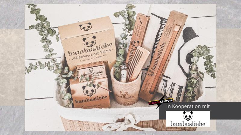 Nachhaltige Produkte mit Bambusliebe